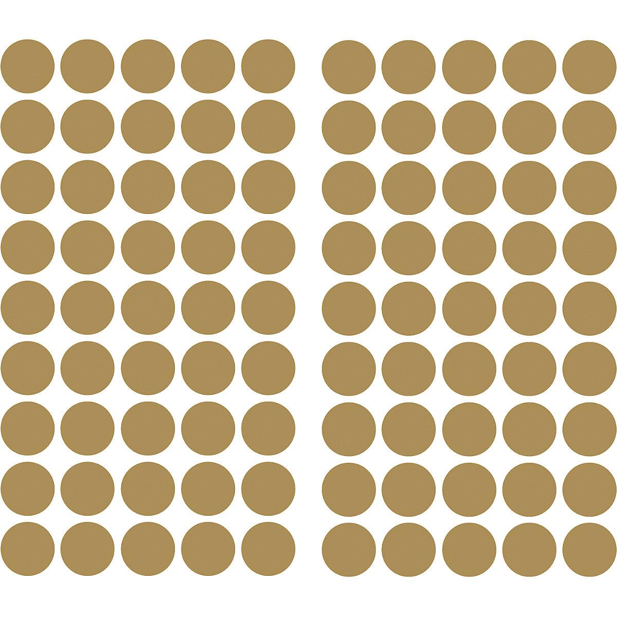 Wandsticker goldfarbiges konfetti 90 tlg gold - Wandsticker gold ...