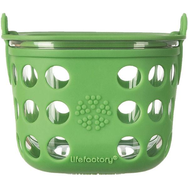 Lebensmittelaufbewahrung  Lifefactory Lebensmittelaufbewahrung aus Glas grass green, 475 ml ...