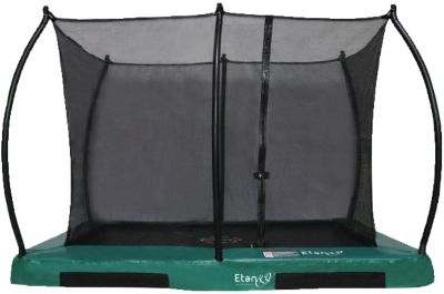 Etan Trampolin Inground Hi-Flyer 1075 Trampolin mit passendem Sicherheitsnetz grün Gr. 230 x 300 | Kinderzimmer > Spielzeuge > Trampoline | Etan