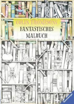 Buch - Colin Thompsons Fantastisches Malbuch