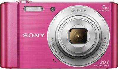 Sony Cyber-shot DSC-W810 Kompakt Kamera, 20,1 M...