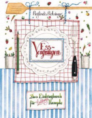 Buch - Essvergnügen: Das Eintragbuch Lieblingsr...