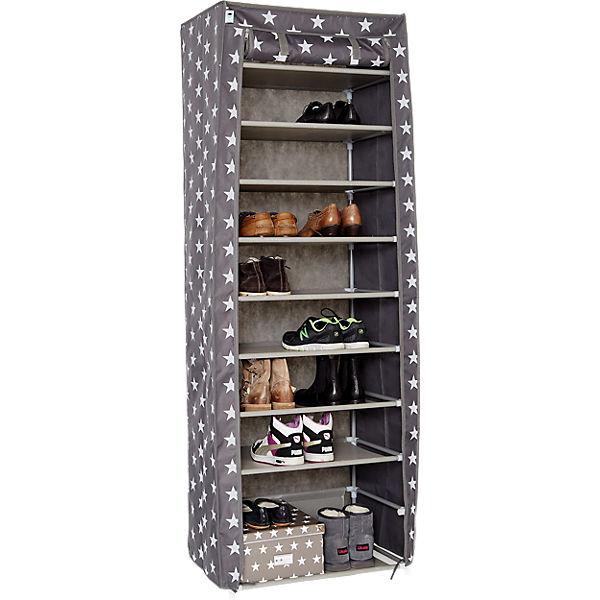 xxl textiler schuhschrank grau store it yomonda. Black Bedroom Furniture Sets. Home Design Ideas
