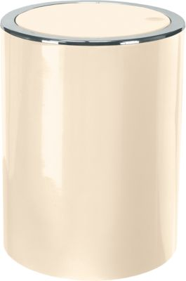 Kleine Wolke Schwingdeckel Mülleimer Clap 5 Liter offwhite | Küche und Esszimmer > Küchen-Zubehör > Mülleimer | Kleine Wolke