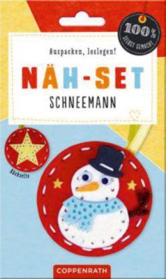 100% selbst gemacht: Filzanhänger Schneemann, N...