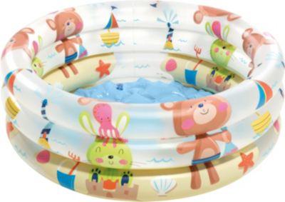 Intex Planschbecken BabyPool Teddy mehrfarbig   Garten > Swimmingpools   Intex