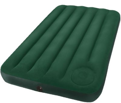 Luftbett Downy dunkelgrün