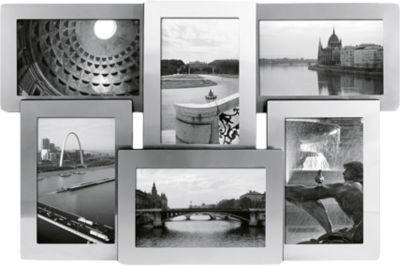 Wandgalerie Bilderrahmen ´´Portland´´ 6 Fotos s...