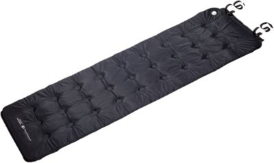 Selbstaufblasbare Matte Comfort schwarz
