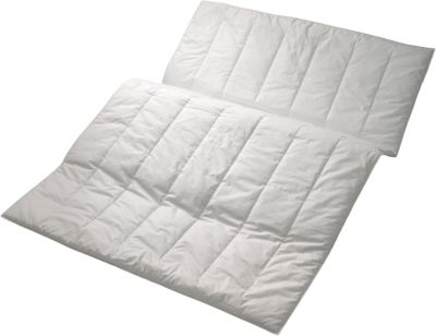 Sommer Bettdecke ´´Sport line´´ Kunstfaser weiß Gr. 155 x 220