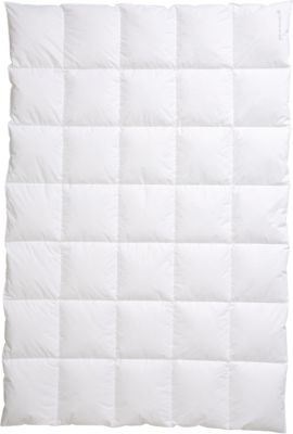 Bettdecke ´´Ambiente 5x7´´ Daunen (100%) weiß Gr. 240 x 220