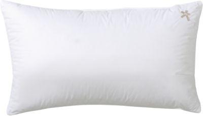Kopfkissen ´´Classic medium´´ Daunen (30 %) 40x80 cm weiß Gr. 40 x 80