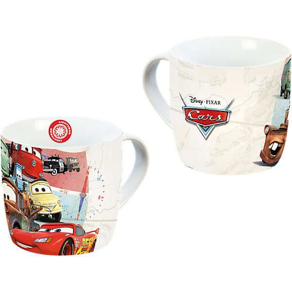 Tasse Porzellan Disney Cars, 250 ml