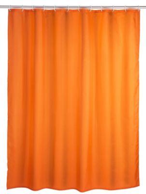Anti-Schimmel Duschvorhang Orange 180 x 200 cm ...