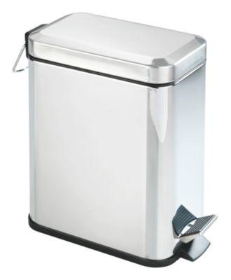 Edelstahl Tret Mülleimer ´´Square´´ 5 Liter