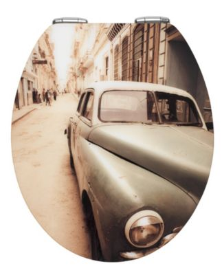 WC-Sitz Old-Time Car mit Absenkautomatik mehrfa...