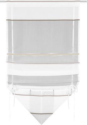 Bändchenrollo ´´Nanni´´ 120x60 cm weiß Gr. 120 x 60 | Heimtextilien > Jalousien und Rollos > Bändchenrollos | Polyester | yomonda