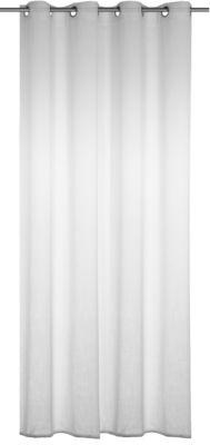 Gardine mit Ösen ´´Alex´´ 245x140 cm weiß Gr. 2...