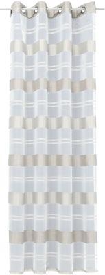 Gardine mit Ösen ´´Ludwig´´ 245x135 cm weiß Gr....