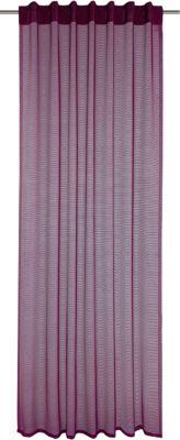 Gardine mit Schlaufen ´´Lukas´´ 245x140 cm lila...