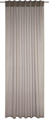 Gardine mit Schlaufen ´´Lukas´´ 245x140 cm grau...