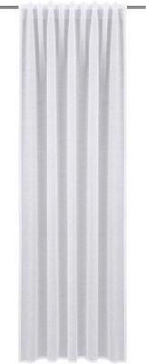 Gardine mit Schlaufen´´Ronny´´ 245x135 cm weiß ...