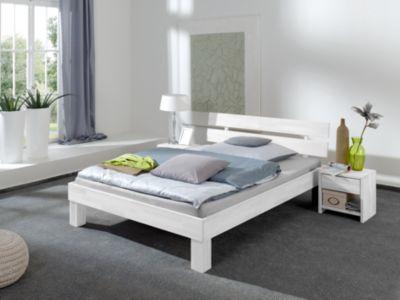 Relita Futonbett JULIA, Buche massiv, weiß gewaschen, 100 x 200 cm   Schlafzimmer > Betten > Futonbetten   Relita