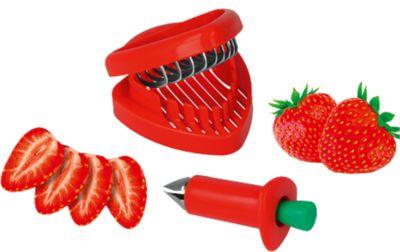 2-tlg. Erdbeer Set ´´Mrs. Berry´´, Erdbeerschne...