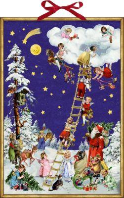 Buch - Nostalgische Himmelsleiter, Adventskalender