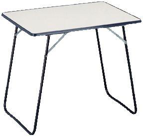 Camping Tisch ´´Binz´´ 60x80 cm, klappbar beige...