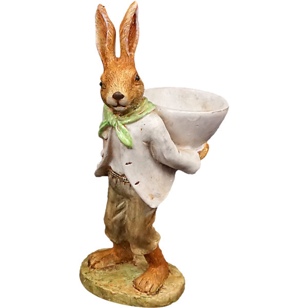 "Dekofiguren ""Mr.Hase"" H15cm"
