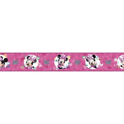 Vorhang Minnie Mouse Stylish Pink, 140 x 240 cm, rosa, Disney Minnie Mouse