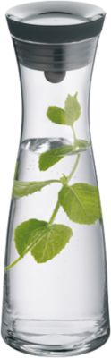 Glas Karaffe ´´Basic´´ 1 L schwarz