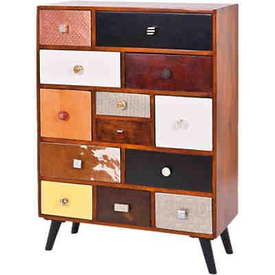 Sheesham beistelltisch boja massivholz 35x35 cm braun for Beistelltisch 35x35