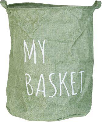 Wäschesack ´´My Basket´´ 40x50 cm grün