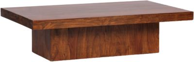Sheesham Couchtisch ´´Perona´´ Massivholz 120x70 cm braun