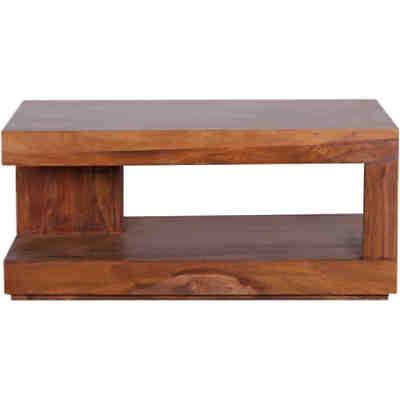 Sheesham sideboard tayo massivholz mit 1 schublade und 1 - Couchtisch 90x60 ...