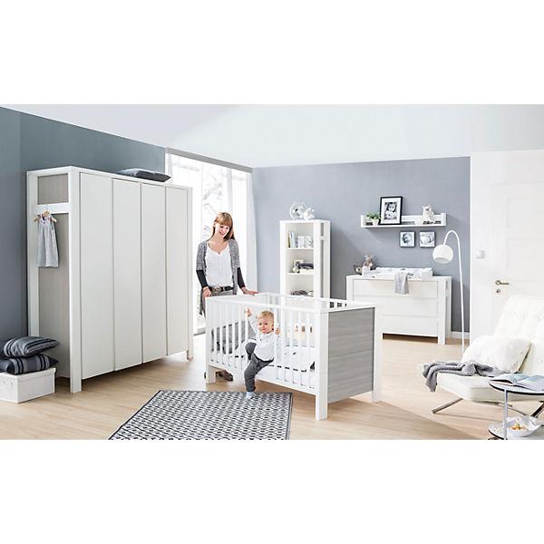 komplett kinderzimmer milano pinie 3 tlg kombi kinderbett 70x140 umbauseiten extra breiter. Black Bedroom Furniture Sets. Home Design Ideas