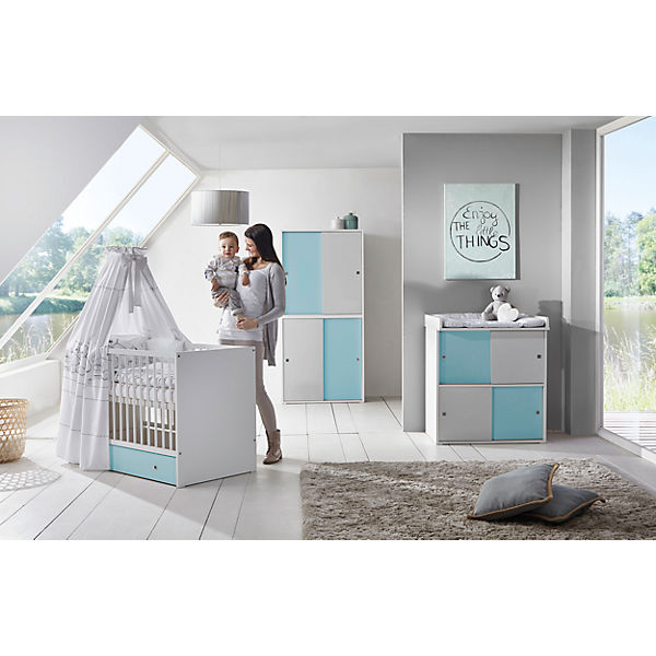 Komplett Kinderzimmer Clic 3 Tlg Kombi Kinderbett 70x140