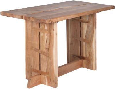 Akazien Esstisch ´´Baha´´ Massivholz 120x60 cm beige