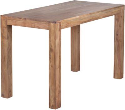 Akazien Esstisch ´´Boja´´ Massivholz 120x60 cm beige