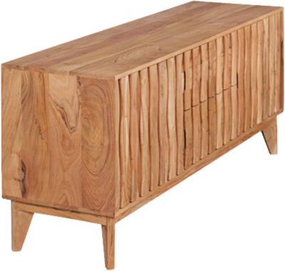 Akazien Sideboard ´´Jolia´´ Massivholz B160 cm beige