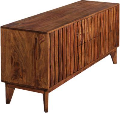 Sheesham Sideboard ´´Jolia´´ Massivholz B160 cm braun