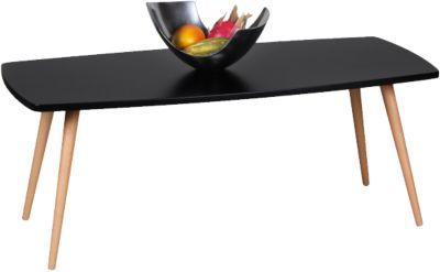 Couchtisch ´´Kopenhagen´´ 110x50 cm schwarz