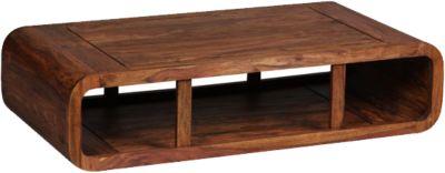 Sheesham Couchtisch ´´Lumal´´ Massivholz 120x60 cm braun