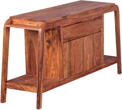 Sheesham Sideboard ´´Tayo´´ Massivholz mit 1 Schublade und 1 Tür B150 cm braun
