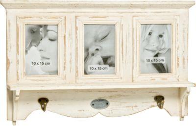 Garderobe 3 Bilder ´´Amelie´´ L55 cm creme Erwa...