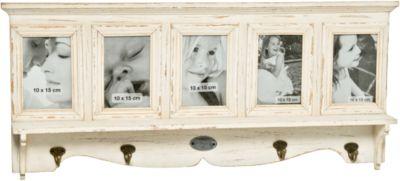 Garderobe 5 Bilder ´´Amelie L78 cm creme Erwach...