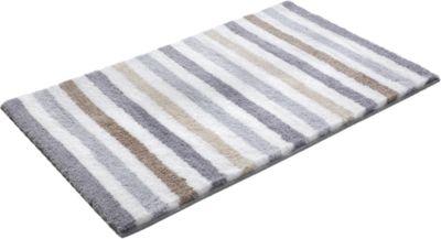 Badezimmer-Teppich ´´Line Stripe´´ grau Gr. 70 ...