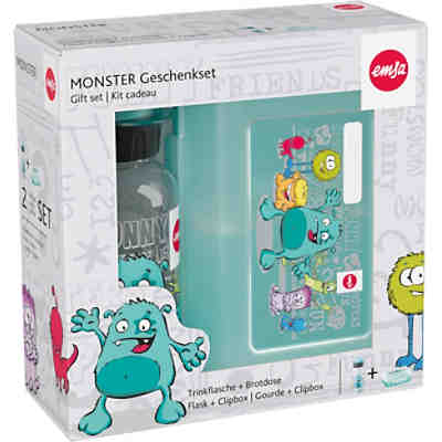 Pausenset Tritan Monster, 2-tlg.